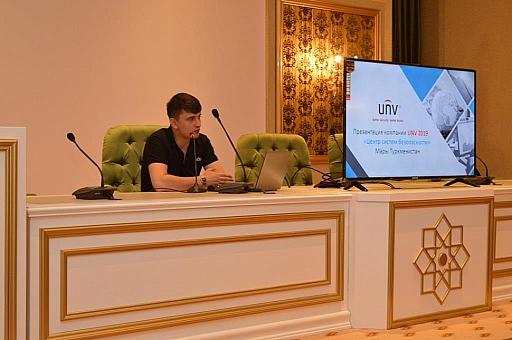 Презентация камер видеонаблюдения UNV в Мары