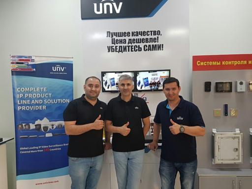 Два года бренду UNV в Туркменистане!