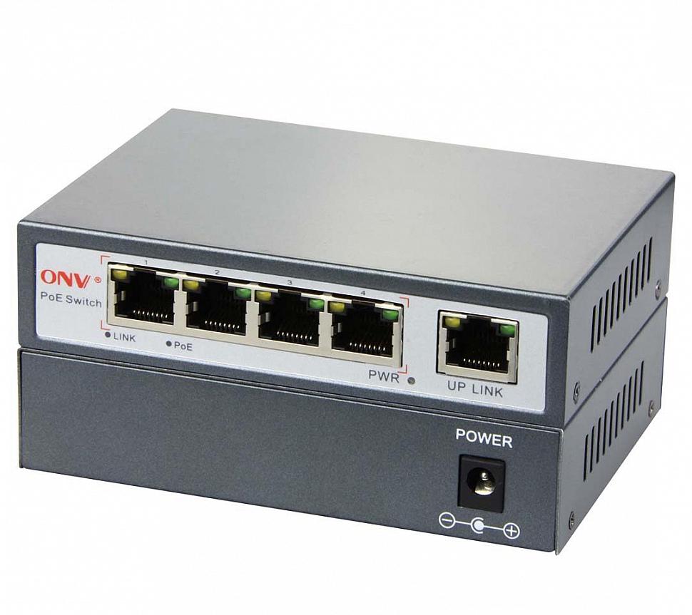 4-портовый свитч ONV-POE34002P