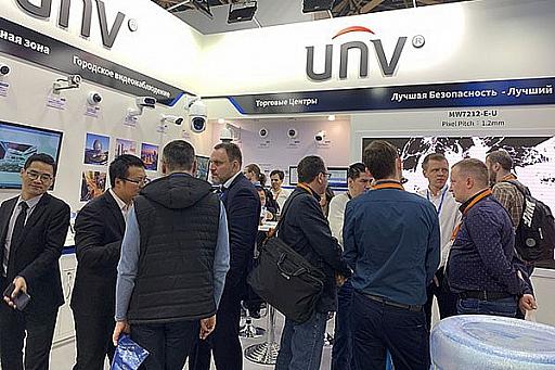 Uniview на выставке Securika Moscow 2019